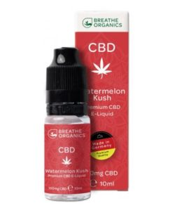 E-liquid CBD 1% Watermelon Kush Breathe Organics'  - 10ml