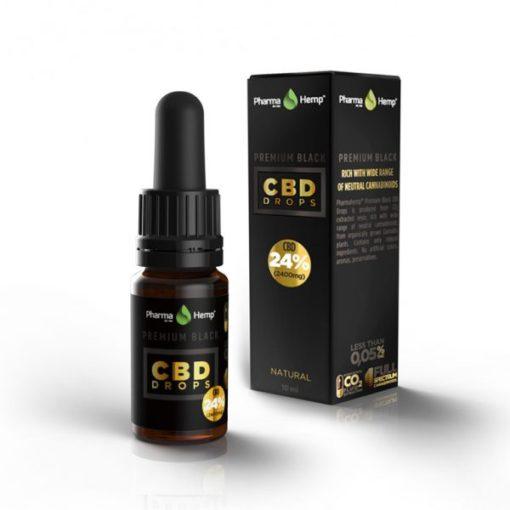 Ulei cbd 'Pharma Hemp' 24% concentratie - 10ml