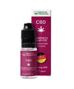 E-liquid CBD 3% Blueberry Kush 'Breathe Organics'- 10ml