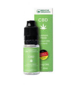 E-liquid CBD 3%  Lemon Haze 'Breathe Organics'   - 10ml