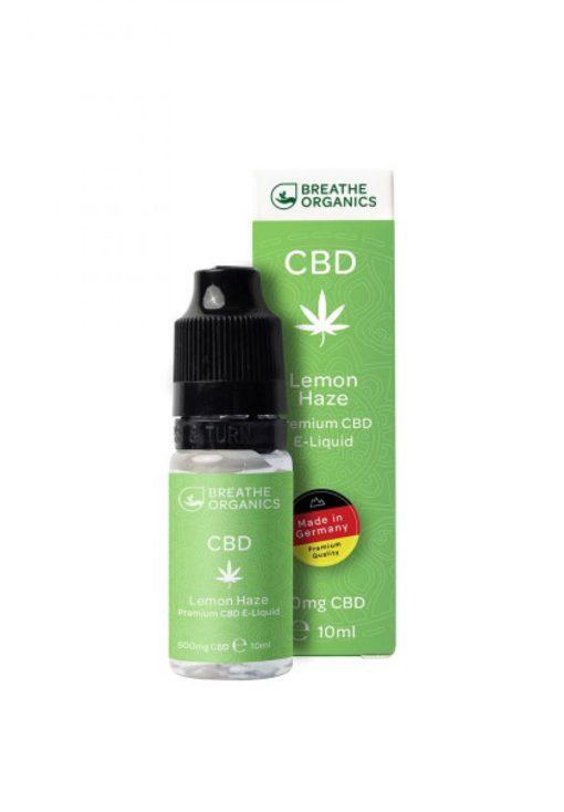 E-liquid CBD 6% Lemon Haze 'Breathe Organics' - 10ml