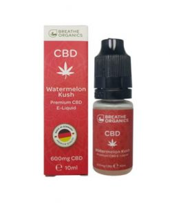 E-liquid CBD 6% Watermelon Kush 'Breathe Organics'  - 10ml