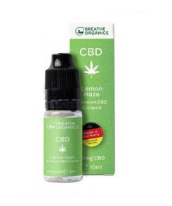 E-liquid CBD 1% Lemon Haze 'Breathe Organics'  - 10ml