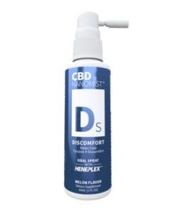 Spray Oral CBD 'Nanomist' Discomfort