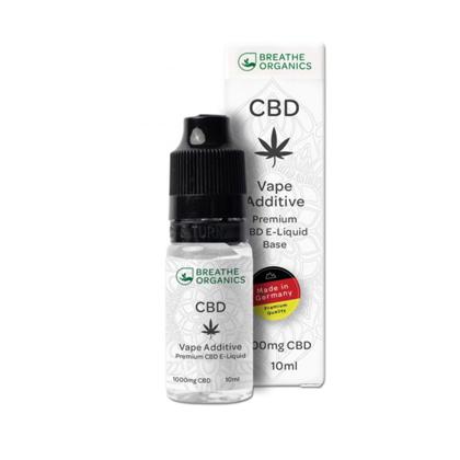 E-liquid CBD 10% Natural 'Breathe Organics' - 10ml