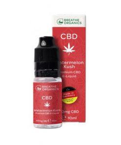 E-liquid CBD 1% Watermelon Kush Breathe Organics'  - 10ml