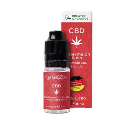 E-liquid CBD 3% Watermelon Kush 'Breathe Organics' - 10ml