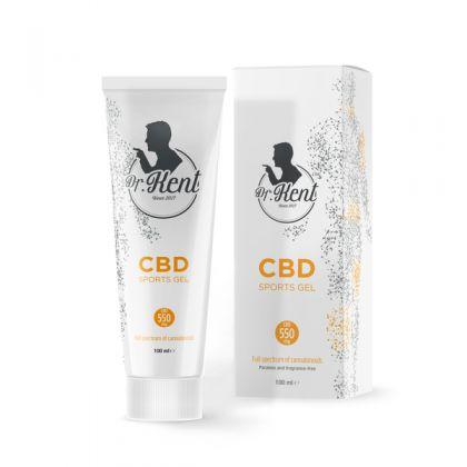 Crema Hidratanta 'Dr. Kent' 550mg CBD - 100ml