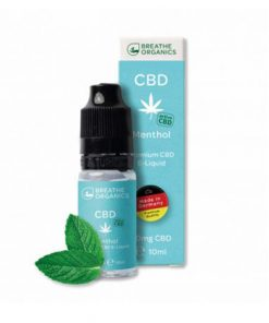 E-liquid CBD 1% Menthol Kush 'Breathe Organics' - 10ml